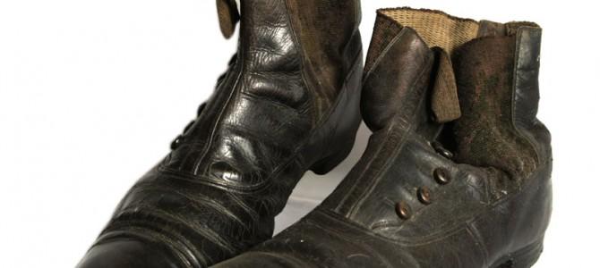 Victorian men's boots