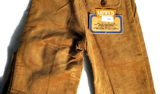 late 60's Levi's corduroy pants