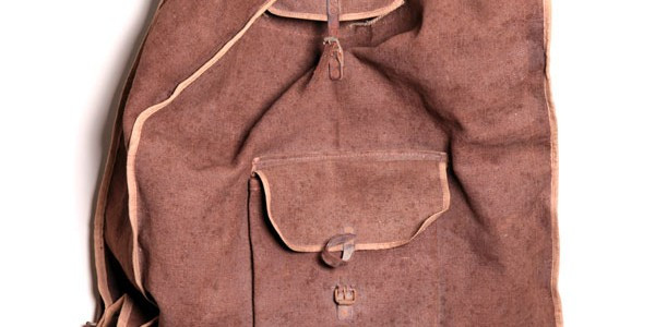 WWI handmade backpack