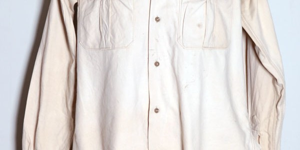 1950's french chino shirt(2)