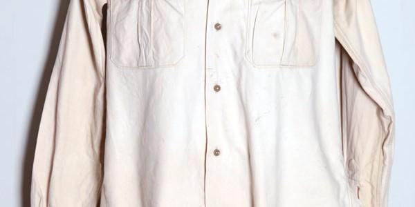 1950's french chino shirt(2)