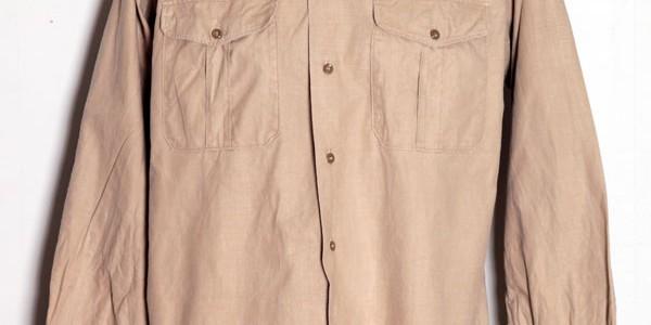 1950's french chino shirt