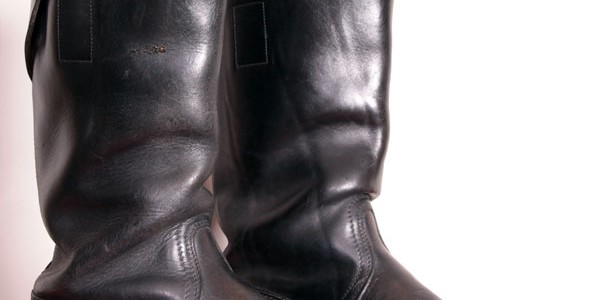 1950′s german engineer boots