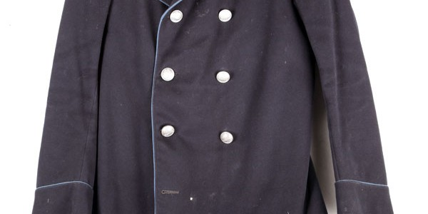 1900's french Post peacoat