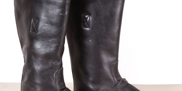 1950's french engineer boots