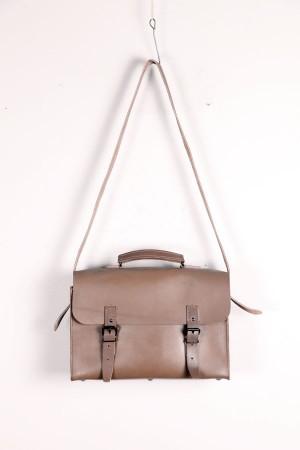 1970's postman leather bag