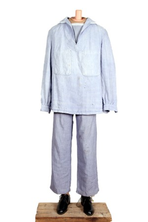 1950's Marine Nationale linen work suit