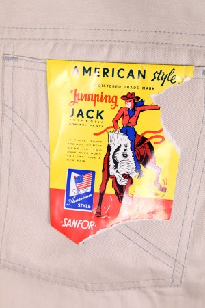 1960's Jumping Jack work pants