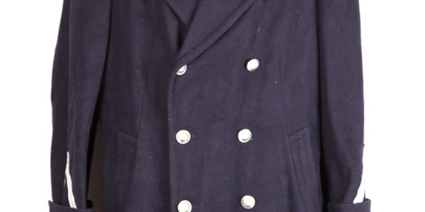1950's french policeman peacoat