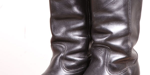 1980′s german engineer boots