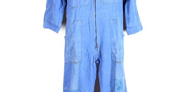 1960's french blue overall
