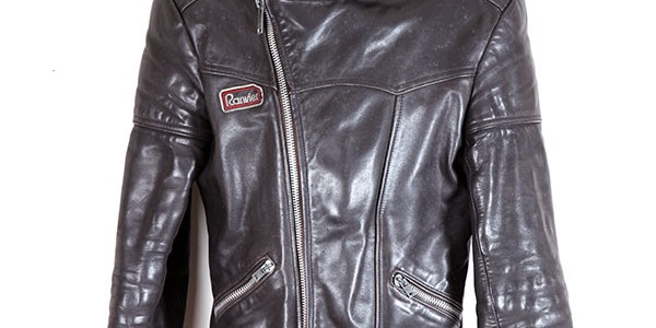 Late 70's motorcyclist leather jacket