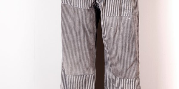 1930's stripped work pants