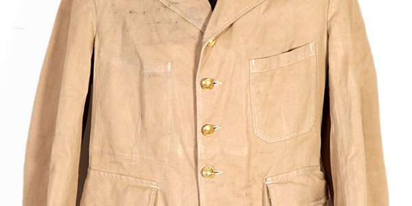 WWII french army brown jacket (2)