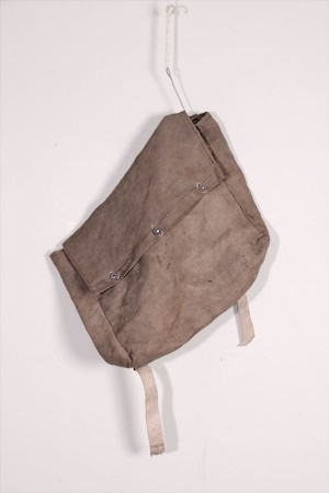 1930's french canvas backpack
