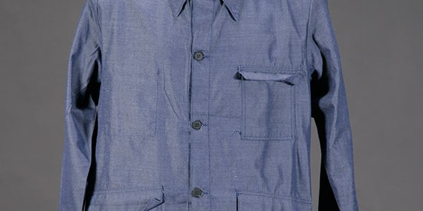1960's blue chambray work jacket