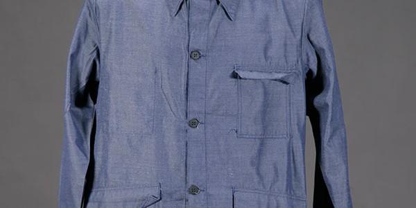 1960's blue chambray work jacket