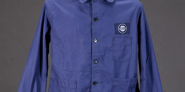 1950's blue work jacket