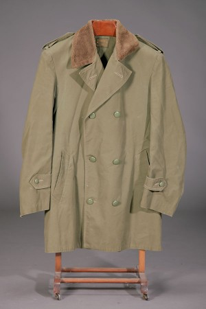 1959 french army khaki peacoat