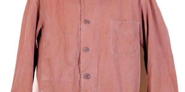 1940's brown twill chore coat