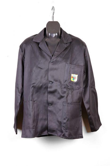 1950's black moleskin work jacket