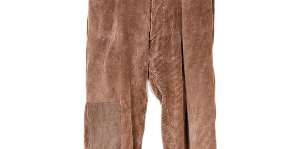 1930's french farmer cord pants