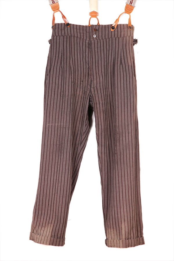 1930's french stripped pants