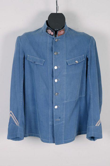 Early 1900's fireman herringbone suit