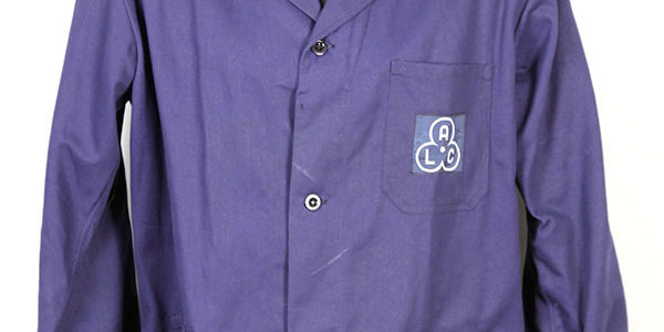 1950's belgian blue work jacket