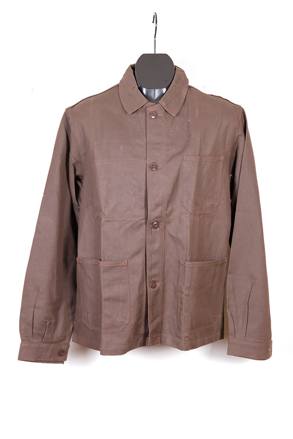 1950's french brown work jacket