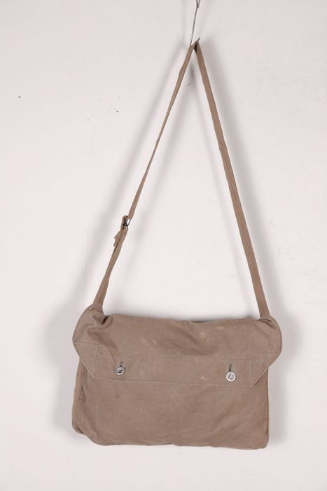 WWII french canvas musettes