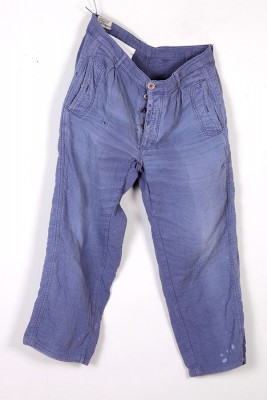1950's french Armand Thiery cotton work pants