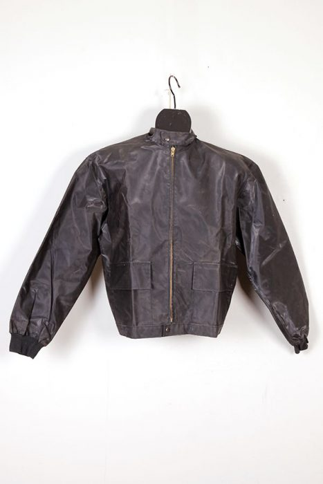 1950's Méryl rubberized motorcyclist jacket