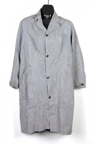 French Jaspé atelier coat
