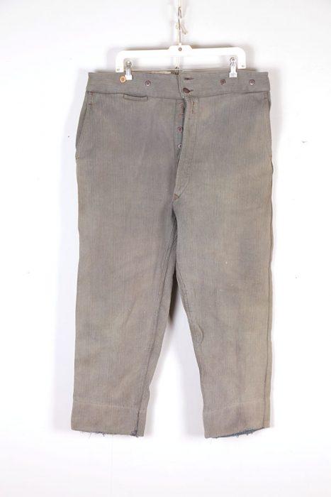 1930's Le Ramier grey/green cord pants