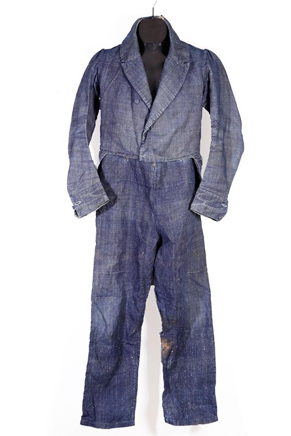 1828 french Sergé de Nîmes summer suit
