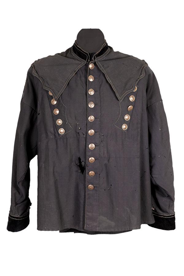 1899 Alsatian potash mine foreman jacket