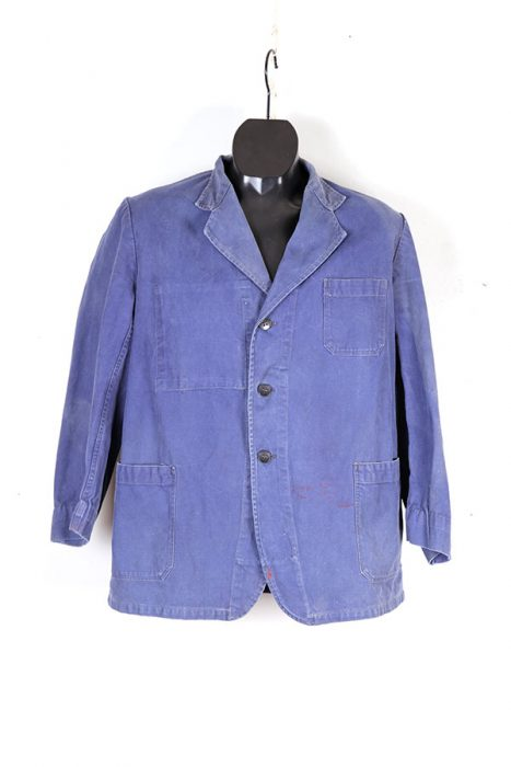 Mid century french cotton chore jacket