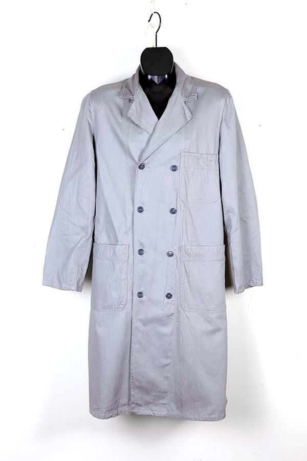 1960's sanforized cotton double breasted atelier coats