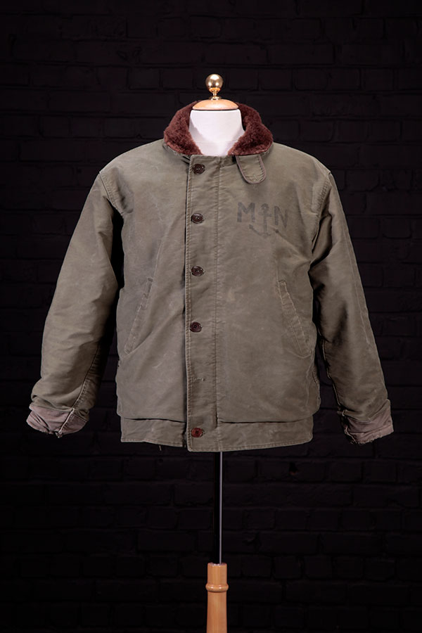 1950's french Marine Nationale deck jacket