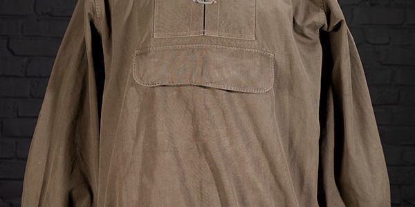 1950's french civilian kaki smock