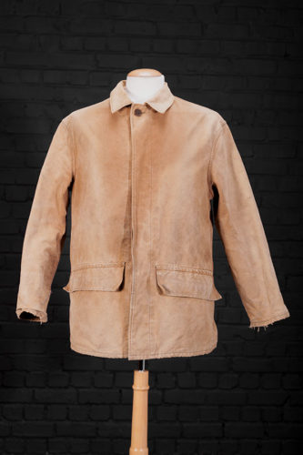 1960's french cachou canvas hunting jacket