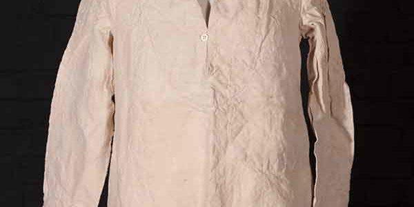 1939 Marine Nationale linen work shirt (bourgeron)