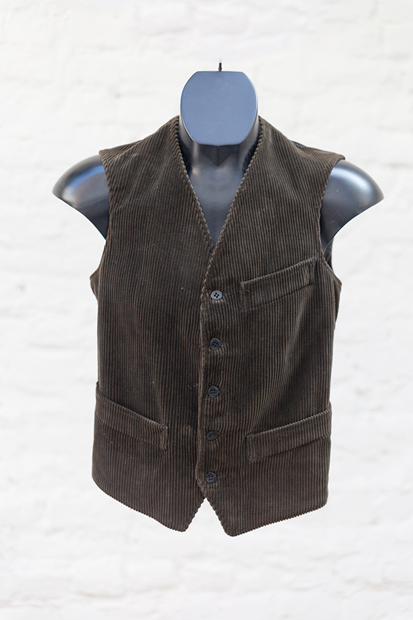 1950's french deadstock l'Alpin cord vest