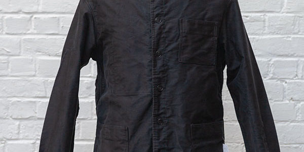 1960's french black moleskin jackets