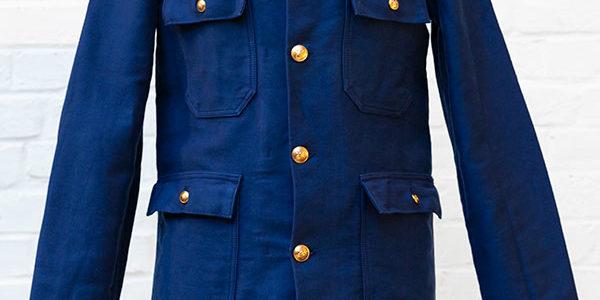 1960's belgian fireman moleskin jackets