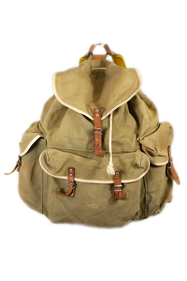 1950's small french backpack