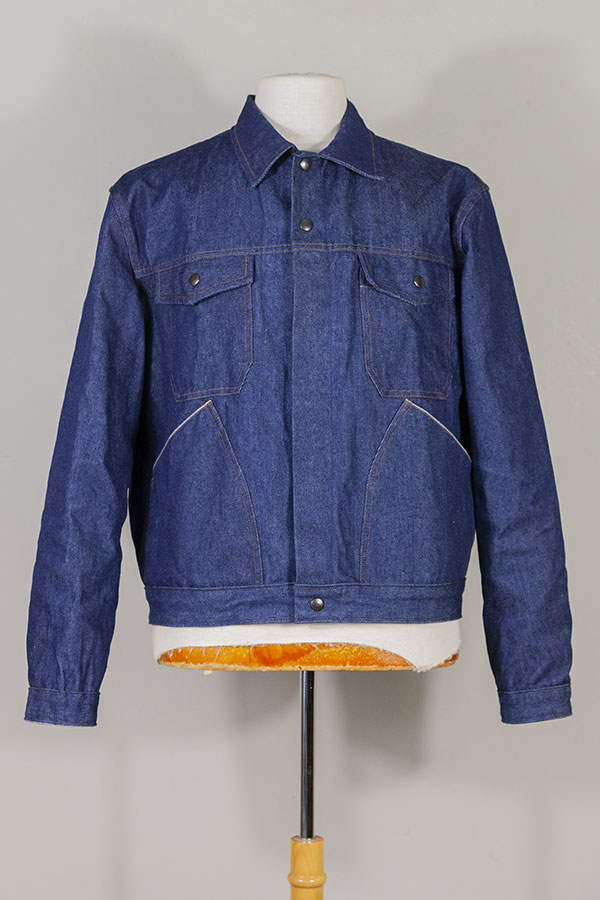 1960's belgian denim work jacket