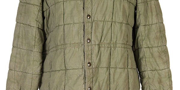 Deadstock 1950's french army quilted jacket War of Algeria