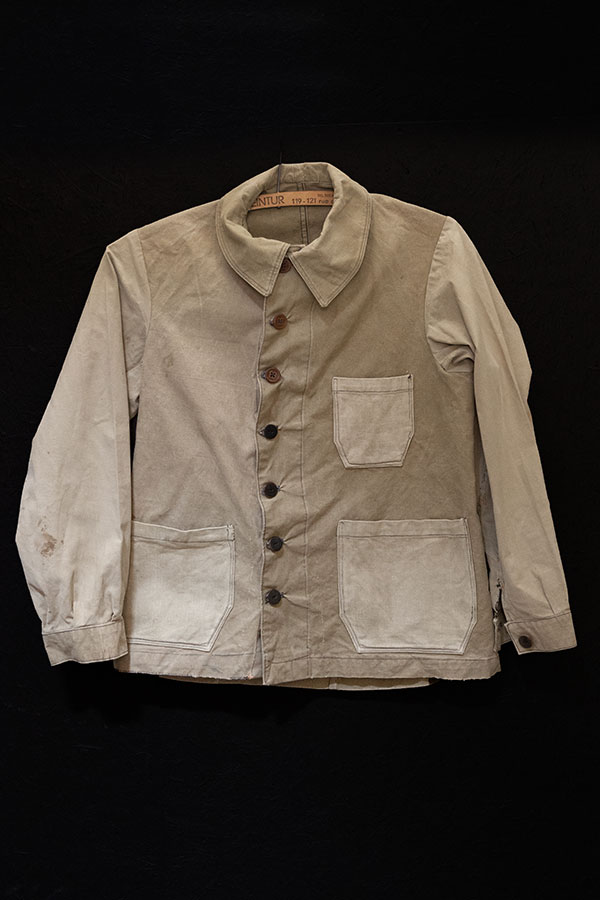1930's french linen work jackets, lemagasin, le magasin
